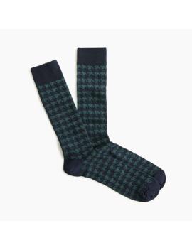 Houndstooth Socks by J.Crew