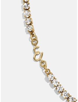 Initial Crystal Bracelet by Baublebar