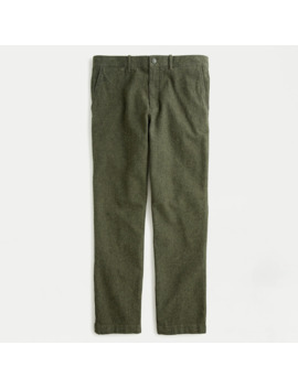 770™ Straight Fit Pant In Stretch Brushed Twill by J.Crew