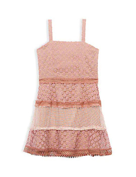 Girl's Kristen Lace Dress by Bardot Junior