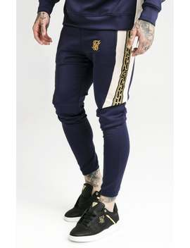 Hybrid Panel Taped Pants – Navy by The Sik Silk