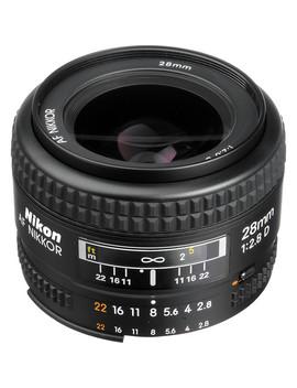 Nikon Af Nikkor 28mm F/2.8 D Lens by Nikon