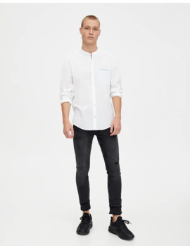 Dark Super Skinny Jeans by Pull & Bear