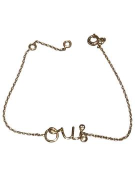 Oui Yellow Gold Bracelet by Dior