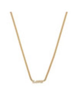Carmella 14 K Yellow Gold Name It Necklace by Ariel Gordon