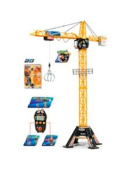 Dickie Toys Construction Motorized Mega Crane, 48 In by Canadian Tire
