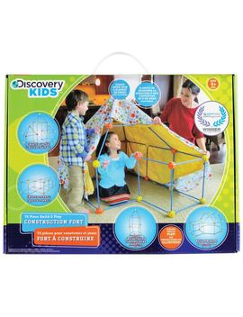 Discovery Kids Build & Play Construction Fort by Canadian Tire