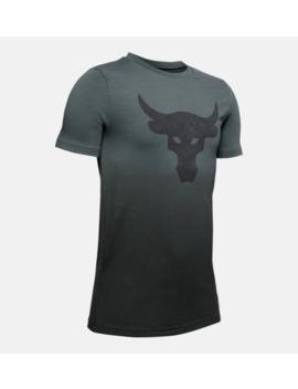 Project Rock Bull Boys' Short Sleeve Shirt by Under Armour