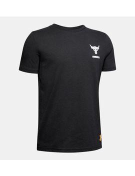 Ua X Project Rock Bsr Boys' Short Sleeve Shirt by Under Armour
