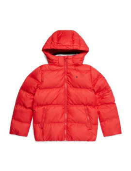 Hooded Down Jacket by Tommy Hilfiger