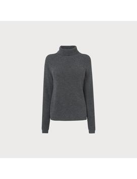 Lulumay Grey Wool Cashmere Jumper by L.K.Bennett