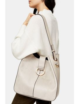 Holly Grey Hobo Bag by Topshop