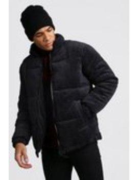 Wattierte Jacke Aus Cord by Boohoo Man