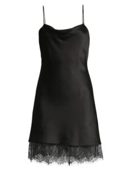 Harmony Lace Trimmed Dress by Alice + Olivia