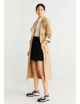 Limon   Trenchcoat by Mango