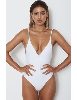 Capri One Piece White by White Fox