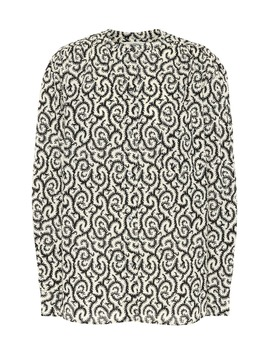Mexica Printed Cotton Shirt by Isabel Marant, Étoile