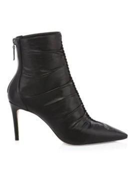 Susanna Leather Heeled Booties by Alexandre Birman
