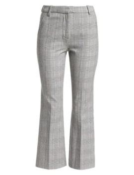 Glen Plaid Flared Pants by 3.1 Phillip Lim