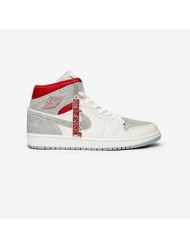 Air Jordan 1 Mid Premium Sneakersnstuff Exclusive   Article No. Ct3443 100 by Jordan Brand