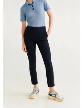 Kısa Paçalı Skinny Pantolon by Mango