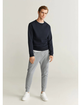 Cord Cotton Jogger by Mango