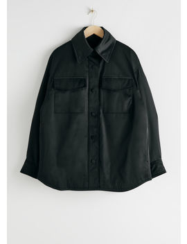 Oversized Padded Technical Jacket by & Other Stories
