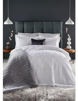 Farhi By Nicole Farhi 100% Cotton Jacquard Duvet Cover by Matalan