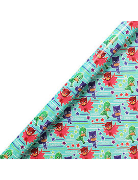 Pj Masks 2m Roll Wrap by The Works