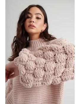 Bubble Sleeve Sweater by Garage