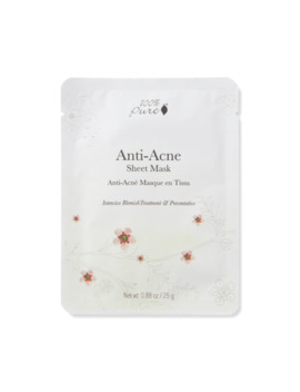 Anti Acne Sheet Mask by 100% Pure