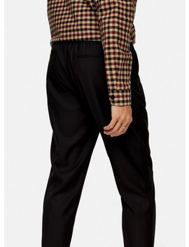 Black Slim Smart Joggers by Topman