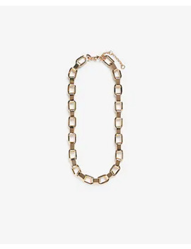 Linked Chain Necklace by Express