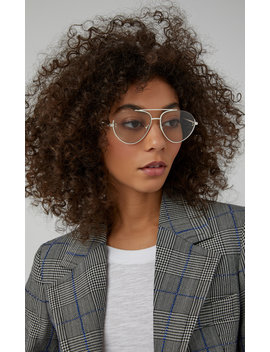 Aviator Style Metal Sunglasses by Stella Mc Cartney Sunglasses