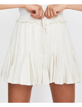 Milly Godet Skirt Natural by Au