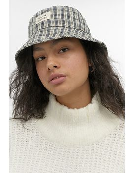 Uo Check Bucket Hat by Urban Outfitters