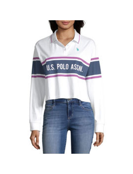 Us Polo Assn. Juniors Womens Long Sleeve T Shirt by Us Polo Assn.