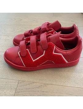Adidas X Raf Simons Sam Smith Badge Red by Adidas