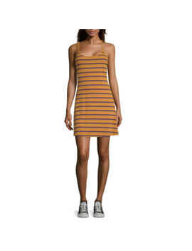 Arizona Juniors Sleeveless Striped Fit & Flare Dress by Arizona