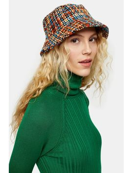 Boucle Bucket Hat by Topshop