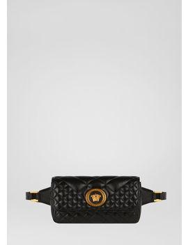 Gesteppte Icon Gürteltasche by Versace