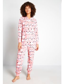 Going Alpaca To Sleep Onesie by Modcloth