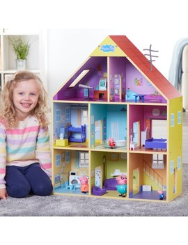 Peppa Pig Wooden Playhouse by Smyths