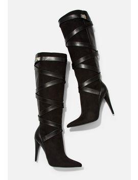 Suri High Heeled Boot by Justfab