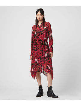 Riva Wing Dress by Allsaints
