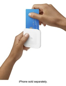 Square Contactless And Chip Reader   White by Square