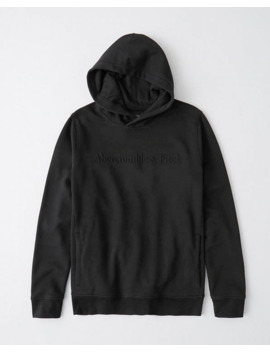 The A&F Perfect Popover Embossed Hoodie by Abercrombie & Fitch