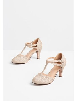 Endearing Evening T Strap Heel by Modcloth