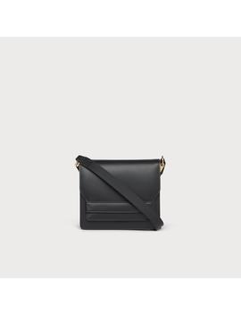 Emma Black Leather Shoulder Bag by L.K.Bennett
