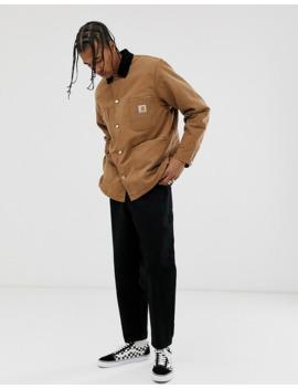 Carhartt Wip – Og Chore – Braune Jacke Aus Bio Material by Asos